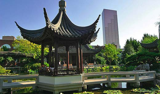 World Portland At Night The Cityscape Lan Su Chinese Garden Myth Wiki